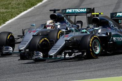 Hamilton Rosberg España
